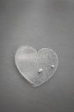Hjärta av socker Arkivbilder