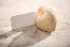 Hjärta av stenen Arkivfoto