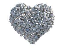 Hjärta av stenen 库存照片