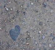 Hjärta av stenen 库存图片