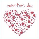 Hjärta av valentin stock illustrationer
