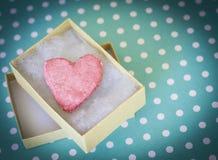 Hjärta av valentin dag Royaltyfri Foto