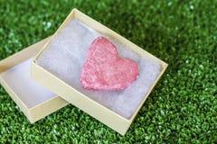Hjärta av valentin dag Arkivfoto
