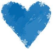 Hjärta av vintern Fotografering för Bildbyråer