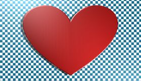 Hjärta bakgrund, illustration 3D, Fotografering för Bildbyråer