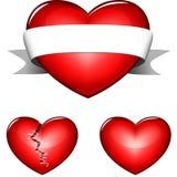 Hjärta 3d Royaltyfria Foton