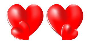 hjärta 3d Royaltyfri Bild