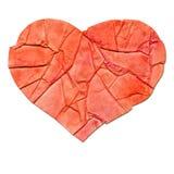 Hjärta - en designbeståndsdel Royaltyfri Foto