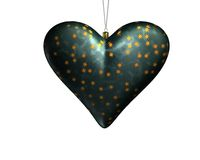 hjärta för 2 jul Royaltyfri Fotografi