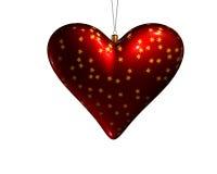 hjärta för 4 jul Arkivbild