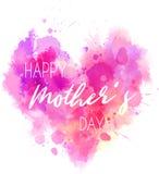 Hjärta för ferie för dag för moder` s stock illustrationer