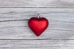 Hjärta för jul Arkivfoto