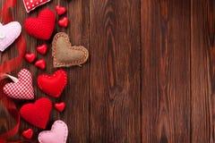 Hjärta för två rosa färg royaltyfri bild