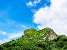 Hjärta formade berg Royaltyfri Bild