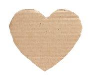Hjärta från en papp. Arkivfoton