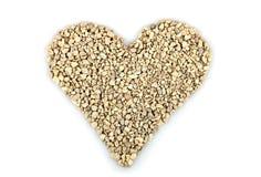 Hjärta från stenar Royaltyfri Fotografi