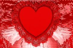 Hjärta Grafik Teckning färgrikt färger Royaltyfri Foto