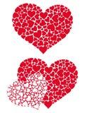 Hjärta i hjärtor 3 Fotografering för Bildbyråer