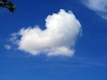 Hjärta i molnet Royaltyfria Bilder