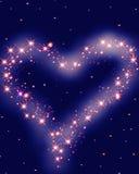 Hjärta i skyen Royaltyfri Fotografi