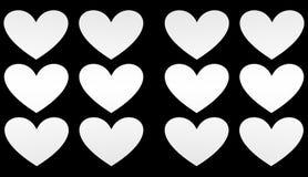 Hjärta illustration Fotografering för Bildbyråer