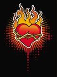 Hjärta med taggar Royaltyfri Fotografi
