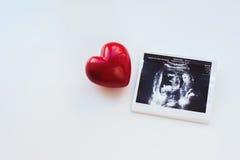 Hjärta och bild Arkivfoton