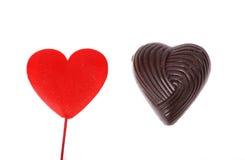 hjärta shapes två Arkivbild