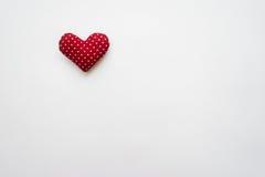 Hjärta som göras med händer Arkivbilder