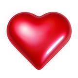 hjärta som skiner royaltyfri foto
