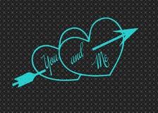 Hjärta Valentin Förälskelse ferie _ modell royaltyfri fotografi