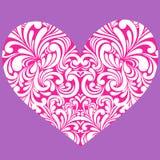 hjärta virveer vektorn Fotografering för Bildbyråer