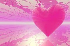 Hjärtaabstrakt begrepp Arkivbild
