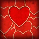 Hjärtabakgrund Royaltyfri Bild