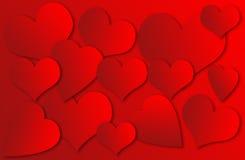 Hjärtabakgrund Arkivbilder