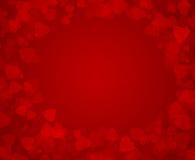 Hjärtabakgrund för valentin dag Arkivfoton