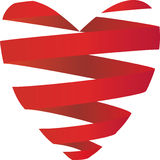 hjärtaband Arkivfoton