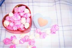 Hjärtaförälskelse för bakgrund Fotografering för Bildbyråer