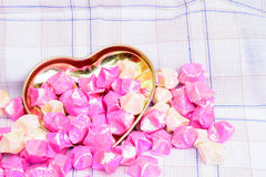 Hjärtaförälskelse för bakgrund Arkivbild