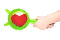 hjärtafilter Royaltyfri Fotografi