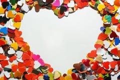 hjärtaform Arkivfoton