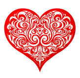 Hjärtaform Arkivbild
