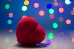 Hjärtaform i ljus Royaltyfria Bilder