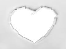 hjärtaformsymbol Arkivfoto