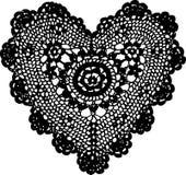 hjärtahandarbete royaltyfri illustrationer