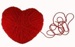 hjärtahandarbete Arkivfoton