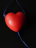hjärtaillstrationmusikal min portfölj till vektorvälkomnandet Royaltyfria Bilder