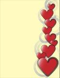 hjärtaillustration Arkivfoto