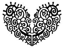Hjärtaillustration. Royaltyfri Bild