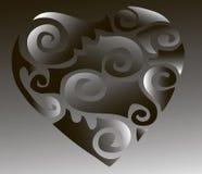 hjärtaillustrationer Royaltyfria Bilder